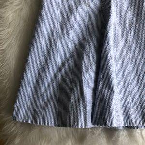 Brooks Brothers Skirts - Brooks Brothers • Seersucker Blue Skirt